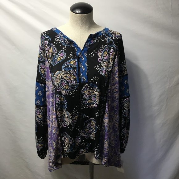 Style & Co Tops - StyleCo Womens Plus Size Floral Blouse $60 NWT
